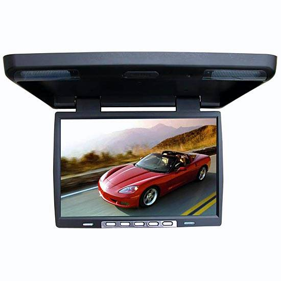 In-Car Flip down monitor (Hong Kong)