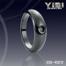 Semi Ceramic Ring, Hot Design Ceramic Jewelry (China)