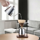 Stainless Steel Pour Over Kettle with Wooden Handle  (Hong Kong)