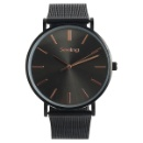 Japan Movt Stainless Steel Man Slim Case Watch (China)