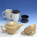 Ceramic Mug, Teapot with Cup set (Hong Kong)